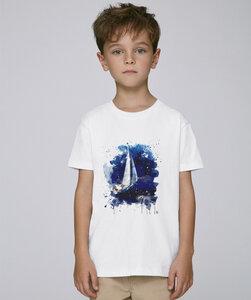 T-Shirt mit Motiv / Segelboot - Kultgut