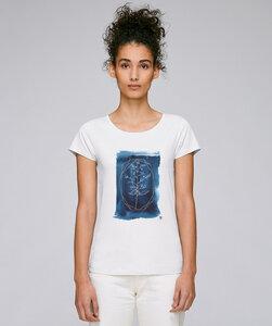 Basic T-Shirt Motiv / blue secret - Kultgut