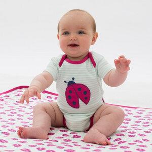 Baby Kurzarm-Body Marienkäfer - Kite Clothing