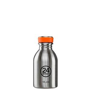 0,25l Edelstahl Trinkflasche - 24bottles