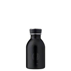 0,25l Trinkflasche Tuxedo Black - 24bottles