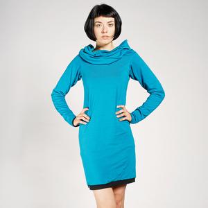 4inONE Pullover & Kleid Bio-Baumwolle in diversen Farben - LASALINA