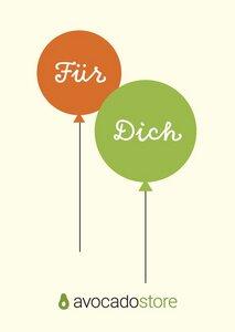 50 € Gutschein - Ballons  - Avocado Store