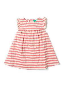 Mädchen Sommerkleid rot geringelt Little Green Radicals - Little Green Radicals