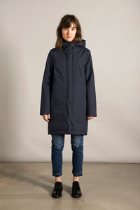 Coat Ariza - Midnight - LangerChen