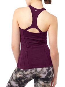 Yoga Shirt - Slim Top - Purple - Mandala