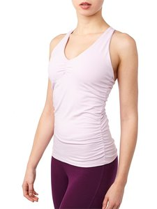 Yoga Top - V-Neck Tank - Orchid - Mandala