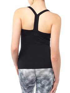 Yoga Top - Define Top - Black - Mandala