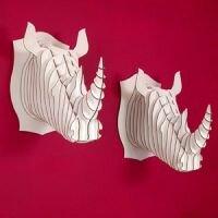 Robbie – Rhino Trophy - Cardboard Safari