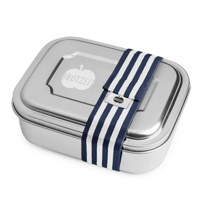 Edelstahl Lunchbox Duo, viele Designs - Brotzeit