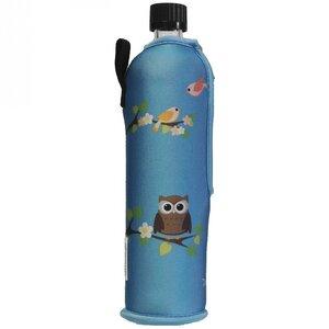 Eule Trinkflasche 500ml mit Neoprenbezug - Dora
