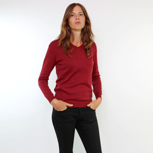 Pullover Ste. Anne Bordeaux - Gary Mash