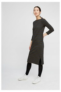 Kleid - Lucille Stripe Dress - People Tree