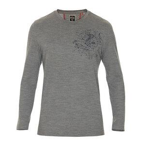 Herren Langarm-Shirt Polo - Rewoolution