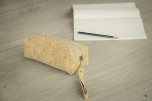 Federmappe Etui aus Kork, Pencil bag, Kork Tasche - BY COPALA