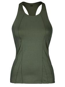 Yoga Shirt - Slim Top - Aviator green - Mandala