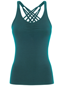 Yoga Shirt - Infinity Top - Aviator green - Mandala