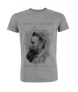 Röntgen Shirt Herren 'heather grey' - DENK.MAL Clothing