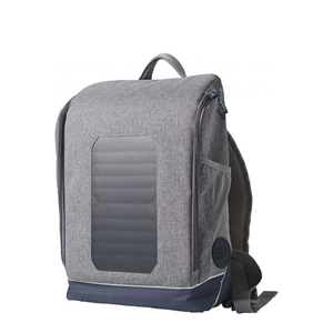 Solar Backpack Small - Monumental Grey Mix - KnowledgeCotton Apparel