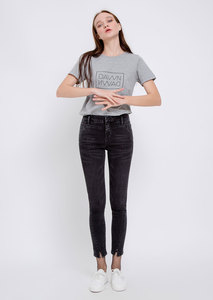 HIGH SUN UP Hight Waist Jeans, Skinny Fit, Schwarz - DAWN
