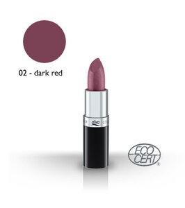 Lipstick 2 - dark red - alva naturkosmetik