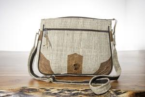 HH Handtasche MAHILA groß aus Bio-Hanf - Himal Hemp