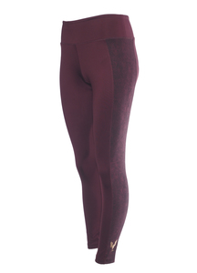 Yoga Shape Leggings Lakshmi mystic red - Kismet Yogastyle