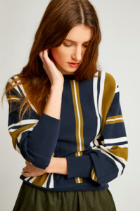 Shola Stripe Jumper - People Tree