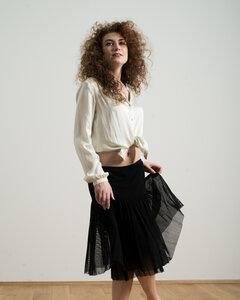 Silk Blouse Edle Bluse aus Seide - Alma & Lovis