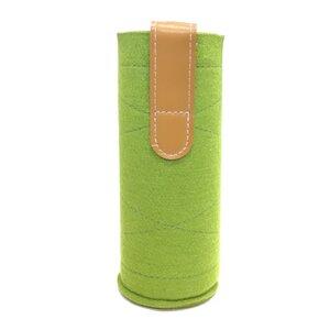 Perfekter Schutz für Glasflaschen: JuNiki's Kaffee-/Teewärmer aus Wollfilz grün - JN JuNiki's