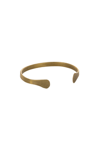 Narrow Cuff Brass (Messing) - People Tree