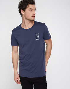 T-Shirt #BOBBIEPRINCE navy - recolution