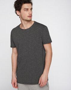 T-Shirt #STRIPES schwarz grau - recolution