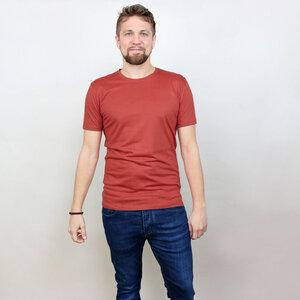 Shirt San Diego Basic Rostrot aus Modal®-Mix - Gary Mash