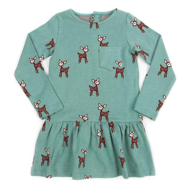 Lily Balou Jaquard Mädchenkleid Fiona deer