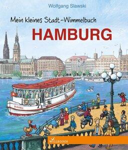Hamburg Pappbilderbuch mein Stadt Wimmelbuch - Willegoos Verlag