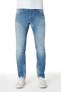 Jeans Slim Fit - Chris Tapered - Light Vintage - Kuyichi