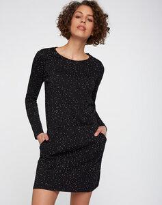 Kleid schwarz gefleckt - recolution