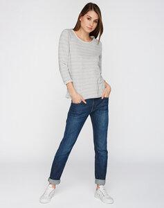 Sweatshirt mit 3/4 Ärmeln grau - recolution
