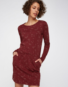 Kleid #BLOOM rot - recolution
