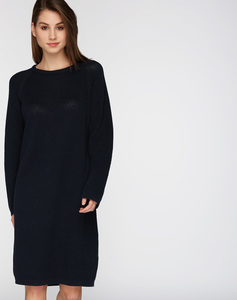 Strick Kleid #POINTS navy blau - recolution