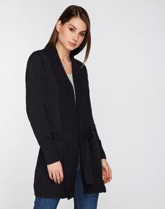 Strick Cardigan Premium schwarz - recolution
