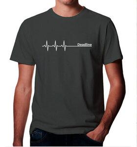 Deadline ;)  / Grau / T-Shirt  - Picopoc