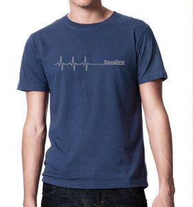 Deadline ;) VintageT-Shirt in Blau - Picopoc