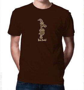>> Kein Bock ! T-Shirt für Männer in Braun & Beige - Picopoc