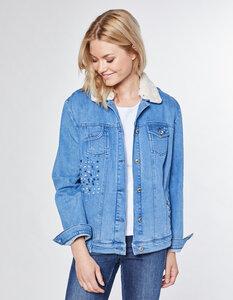 Janita - Stretch-Jeans-Jacke  - Deerberg