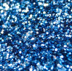 Tief Blau - Biologisch abbaubarer Glitzer - Glitterkram
