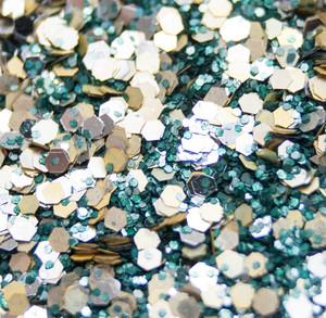 Auenwald Mix - Biologisch abbaubarer Glitzer - Glitterkram