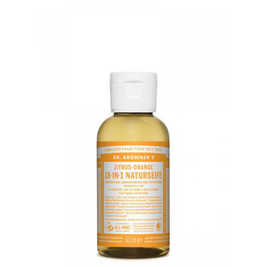 18-IN-1 Naturseife Zitrus-Orange - Dr. Bronner's