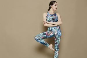 Yogahose - Fancy Legging - Feather - Mandala